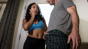 Brazzers - Anya Ivy Just Moved Into The Neighborhood In House Arrest Fuck Fest