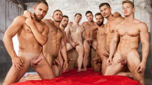 Men - Sense 8 : A Gay XXX Parody Part 5 Chiseled Bodies Darius Ferdynand , Dato Foland , Gabriel Cross , Hector De Silva , Jay R