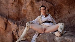 Wicked - Star Wars XXX: A Porn Parody, Scene 2 Jennifer White Ass Licking