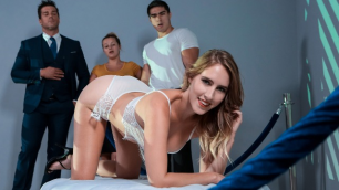 Digital Playground - Aspiring Artist Cadence Lux In Pussy Projection