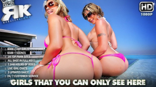 Reality Kings - Booty Velicity Von And Sarah Vandella In Cue The Curves