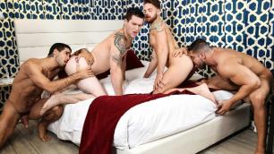 Men - Save Me Allen Lucas, Damien Stone,  Diego Sans, Max Wilde Have Nice Orgy