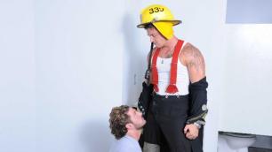 Men - Fire Drill Andrew Blue And Sebastian Young Uniform