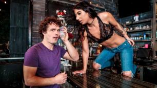 Booty-ful Bartender Alissa Avni Fucks In The Bar