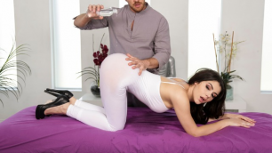 Brazzers - Hard Cock To Be Stuffed Inside Valentina's Nappi Wet Pussy And Mouth