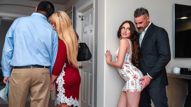 Open House For A Slut With Natural Curves Aubree Valentine