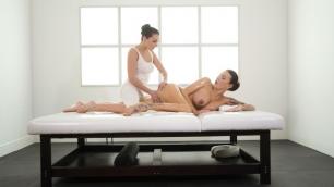 SexyHub - Katy Rose Uses The Stone On Vanessa's Decker Butt Crack