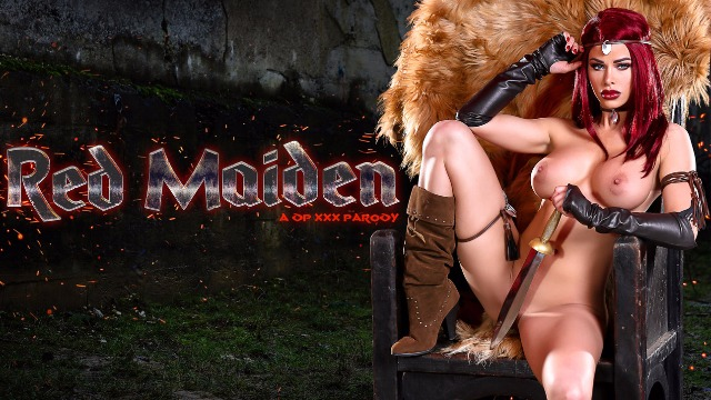 Horny Jessa Rhodes In a DP XXX Parody Red Maiden