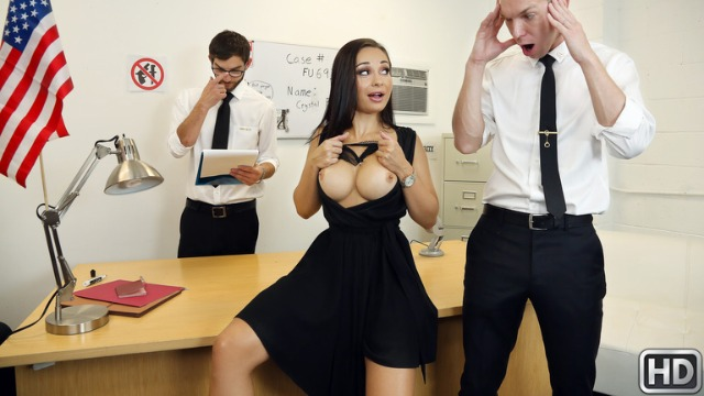 Reality Kings - Crystal Rush Is More Than Happy To Fuck Her Hole In  Strip Search