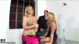 21Sextury - Kathia Nobili And Brooklyn Lee Constantly Tormented By The Lust For Anal Threesome