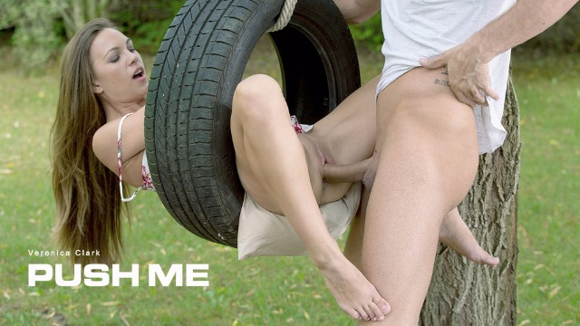 Babes - Veronica Clark Always Wanted To Try A Sex Swing In Push Me