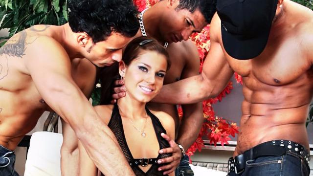 Devils Film - Group Sex With Angel Rivas Gangland 73