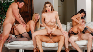 Devils Film - Tiffany Watson And Joseline Kelly And Other Neighbors Came To The Swinger Party 16