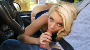 Riley Star Decides To Hitchhike In Runaway Ride