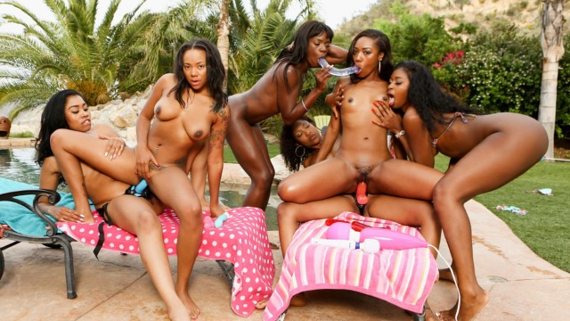 Seduction of Chanell Heart With Yasmine De Leon, Diamond Monrow And Other
