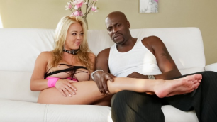 BTS With Blonde Mia Lelani In The Lexecutioner