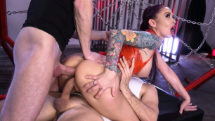 Monique Alexander's Wicked Web Ready For First Double Penetration