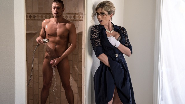Brazzers - Cory Chase A Total Stickler For Manners On Stuck Up Stepmom
