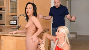 Reality Kings - Amara Romani And London River Are Wants Anal Sex Education