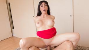 Evil Angel - Busty MILF Sofia Star's Big Cock Anal Sex