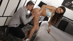 Danejones - Horny Brunette Tina Kay knows How To Fuck And Suck