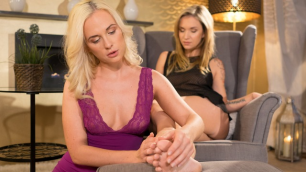Lesbea - Toe Sucking Brought Lesbians To A Vivid Orgasm Angel Piaff And Cristal Caitlin