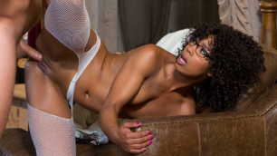 Babes - Black Misty Stone In The White Stockings In The Sessions: Part 6