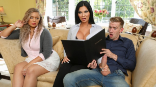 Jasmine Jae Gets Afternoon Of Anal Debauchery In Tea And Crump-Tits