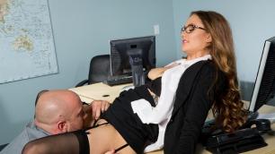 Wicked - My Secretary the Slut, Scene 1 Pretty Samantha Hayes Show Yourself