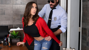 Brazzers - Mall Cop Cock For Dirty Ashley Adams