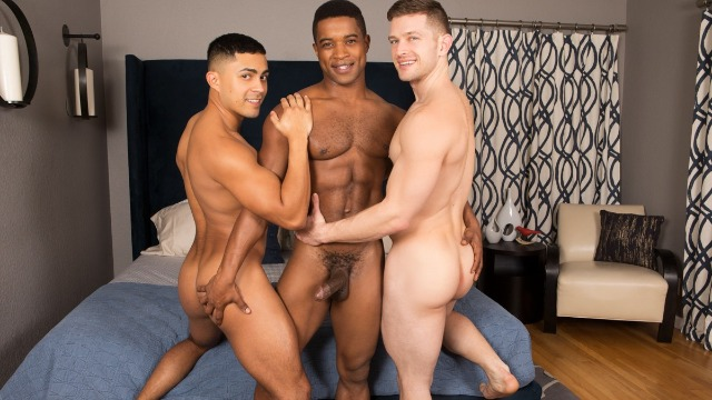 Seancody - Landon, Deacon And Asher: Bareback Fucks Together