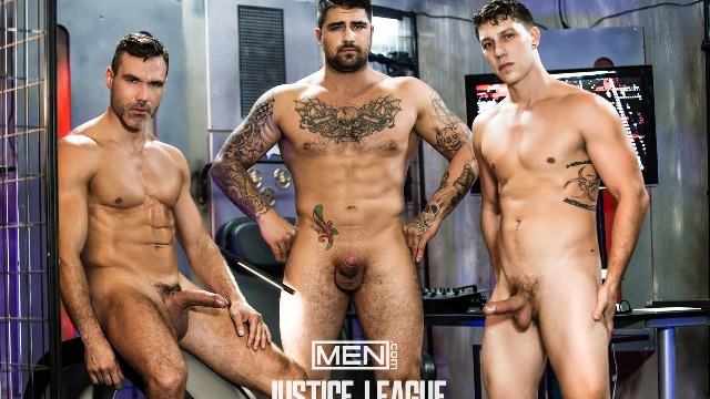 Men - Just Dick League : A Gay XXX Parody Part 3 Manuel Skye And Paul Canon, Ryan Bones Parody