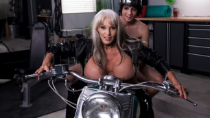 Brazzers - Bad To The Granny Bone Sally D'Angelo