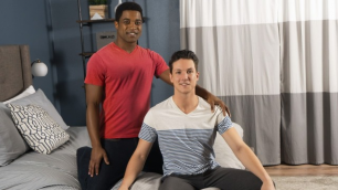 SeanCody - Landon Shows Cole How To Take His Cock
