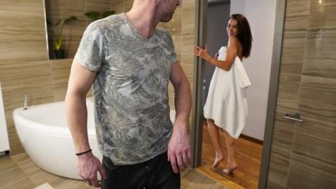 Mofos - Horny Brunette Katrin Tequila Teases Boyfriend