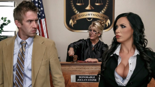 Brazzers - Nikki Benz Hot fuck in the courtroom