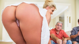 Ryan Conner Foster mother teaches her son fuck in the kitchen
