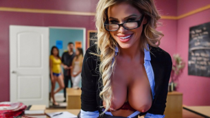 Brazzers - My Sexy Professor Jessa Rhodes Is A Pornstar!