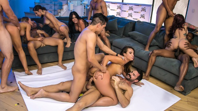 Monique Alexander,  Nicole Aniston... Crazy Fucking Party Of The year: Brazzers House 2 Finale 2017