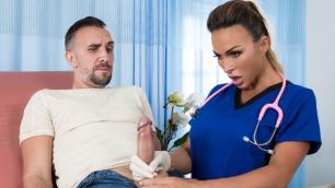 Doctor Aubrey Black Helped Men Ejaculate In All Backed Up