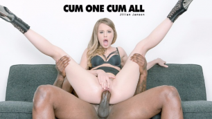 Babes - Jillian Janson Decided To Measure The Size Of The Black Dick In Cum One Cum All