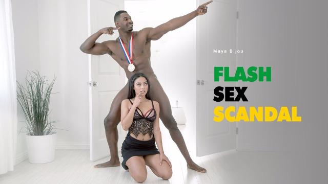 Babes - Maya Bijou Staged Flash Sex Scandal With Her Black Friend