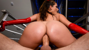 Allie Haze's Latex Lust Has No Anal Limits