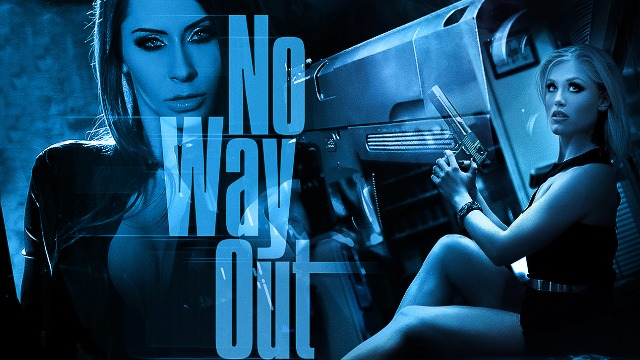 Digital Playground - Ash Hollywood Is Captured In A Mysterious Cell In No Way Out