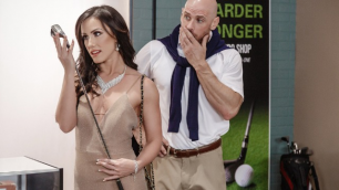Jennifer White Goes Shopping In Pounded At The Pro Shop