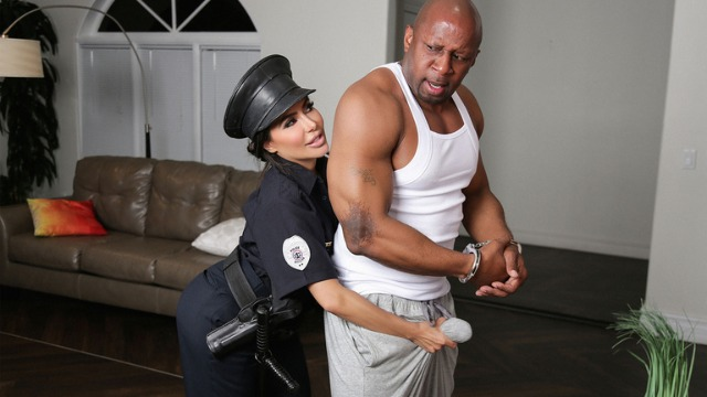 Reality Kings - Bad Cop Lela Star And Black Dick