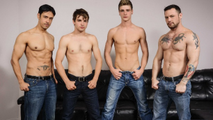 Men - I'm Leaving You Part 5 Sweet Twink Asses Johnny Rapid , Rafael Alencar , Sergeant Miles , Travis Stevens