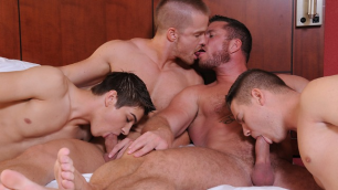 Men - Turn Me Into A Whore 3 Different Sex Charlie Harding , Jack King , Jimmy Johnson , Johnny Rapid , Liam Magnuson , Riley Ba