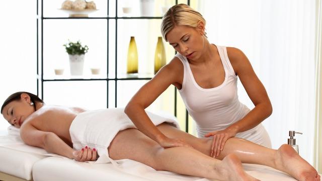 Massagerooms - Lola on Sandy Hot MILF Lola Myluv And Sandy Ambrosia
