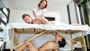 Honey Gold Is Getting Into Her Cabinet In Massage Revenge Fuck